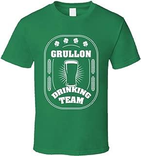 SHAMBLES TEES Grullon Drinking Team St. Patrick's Day Last Name Group T Shirt