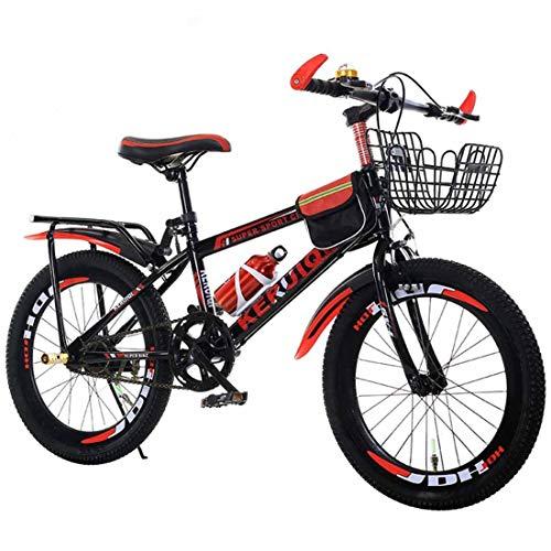 MUYU Volwassen Kids Bike 20 Inch (24 Inch) Zithoogte Verstelbare Single Speed Mountainbike