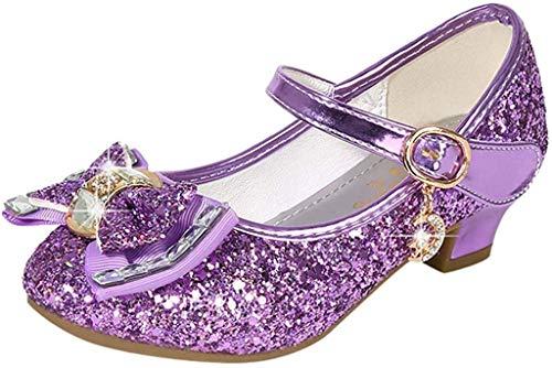 Scarpe da Principessa, Bambina Ballerine Ballo Scarpe Premio Diamante Paillettes Bling Scarpe Principessa Eleganti Anti Scivolo Sala da Ballo Bambini - Chic