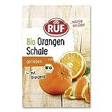 RUF Bio Orangenschale gefriergetrocknet mit Orangenöl, 22er Pack (22 x 5 g)
