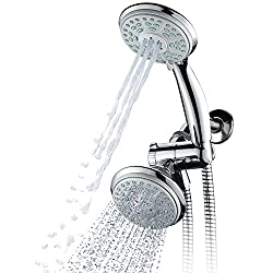 HotelSpa 24-Setting Showerhead and Hand Shower Combo