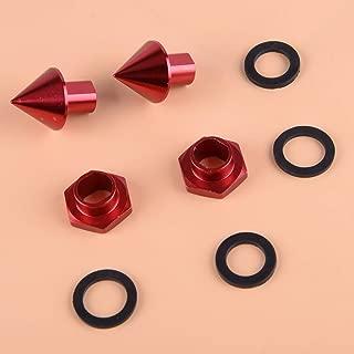 AMZENKA - CNC Spike Rear Glass Strut Hardware Kit Fit For Honda Civic 3Dr Hatchback EG6 1992-1995 For CRV 1997-2001 90101-SR3-000