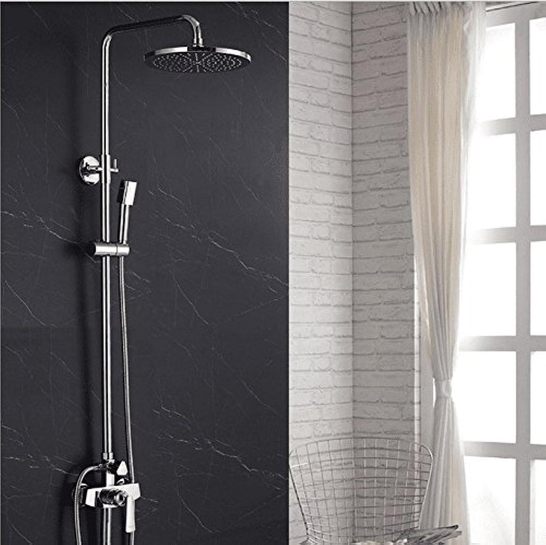 AQMMi Waschtischarmatur Wasserhahn Bad Mischbatterie Dusche Warmes Und Kaltes Wasser Ventil Badezimmer Mischbatterie