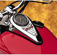 Cobra Vulcan Dash fluted Plaque for Kawasaki 1995-Up VN 800/Drifter - Chrome - One Size