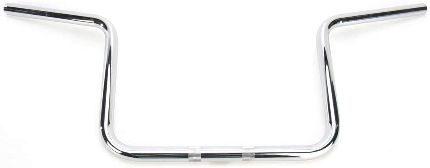 Klock Werks 1in. Ergo Bar  Up Bar Bend  Chrome, color  Chrome, Handle Bar Size  1in. KW06015003C
