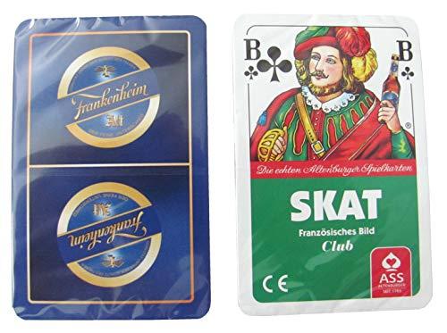 Frankenheim Alt Brauerei - Skatspiel - Franz. Bild - 32 Blatt