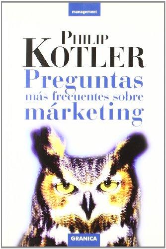 Preguntas mas frecuentes sobre marketing (Management)