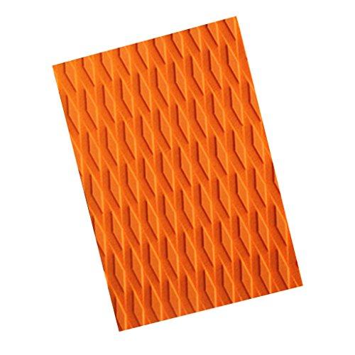 Gazechimp Almohadilla de Tracción EVA para Tabla de Surf Kiteboard SUP - naranja