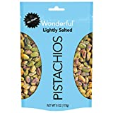 SIZE: 6 Ounce Resealable Pouch 50% less sodium than our Roasted & Salted variety. Lightly Salted contains 65mg of sodium per serving while Roasted & Salted contains 135mg. See nutrition information for fat content. EASY SNACKING: Perfect for cooking,...