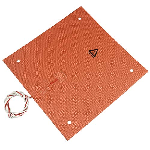 H HILABEE Silicone Heater Pad For 3D Printer Bed With Screw