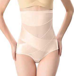 KukiMa Miederhose Figurformende W/äsche Elastisches Korsett Shapewear Taillenmieder Bauchweg Recovery Sofort Body Shaper Kaschierende Postnatal Bauchgurt f/ür Frauen