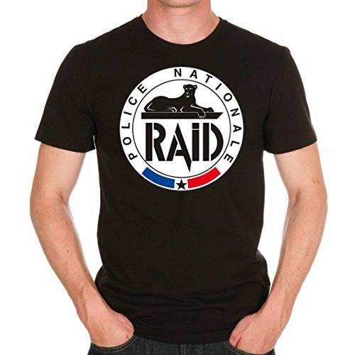 uraeus T-Shirt Raid Police (l)