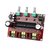 Clyxgs TPA3116D2 2.1 Digital Power Amplifier Board, 2x80W+100W(Bass) Audio Stereo AMP Module for Audio System DIY Speakers 12-26V