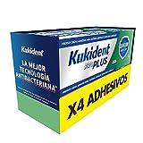Kukident Pro Plus Adhesivo para Prótesis Dental, Pack de 4x40 gr, Mejor Protección