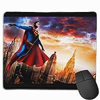 多用途の スーパーマン20 (5) マウスパッド 水洗い 大型 FPSゲーム ゲーミングマウスパッド 防水 滑り止め A2 マウスパッド コンピューター マウスパッド 大型 ゲーミング キーボードパッド (25x30x0.3cm)