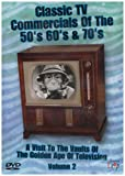 Classic US TV Commercials Of The 50s, 60s And 70s Vol.2 [DVD]