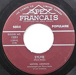 MICHEL LOUVAIN 45 RPM SYLVIE / TOI ET MOI