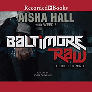 Baltimore Raw audiobook cover art