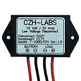 CZH-LABS Electronics-Salon 1PCS Low Voltage Disconnect Module LVD, 12V 10A, Protect/Prolong Battery Life.