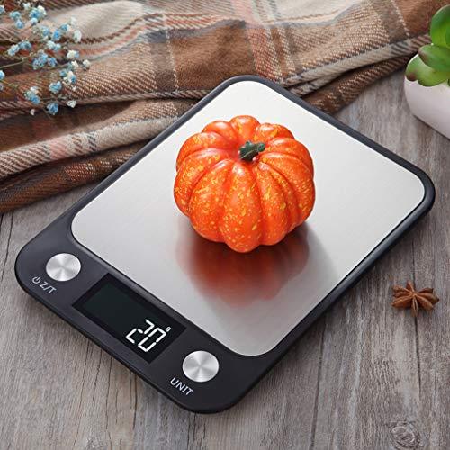 iKINLO Digitalwaage Professionelle LCD Electronische Küchenwaage,wunderbare Präzision auf bis zu 1g(10kg Maximalgewicht) Inkl. Batterien