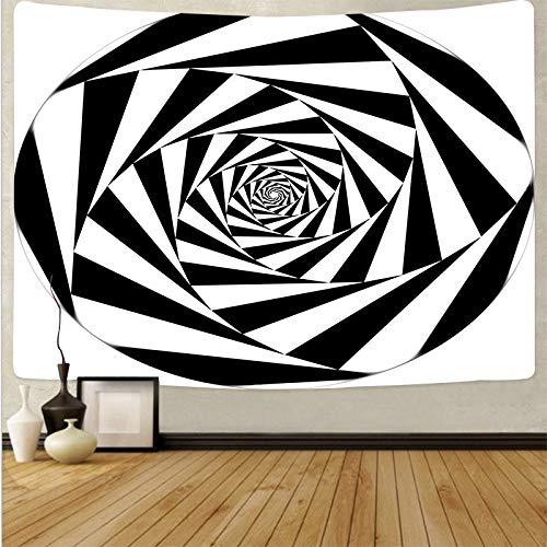 WERT Tapiz de Seta de cráneo Colorido de Dibujos Animados Tapiz de Arte de cráneo mágico Sala de Estar decoración del hogar Tela de Fondo A18 73x95cm
