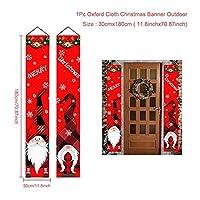 DONGMEICHEN サンタクロースエルフバナークリスマスの装飾品メリークリスマスの装飾のための家の幸せな新年2022クリスマスギフトNavidad 2021 Noel (Color : 10)