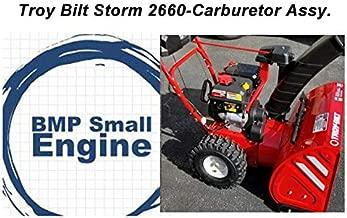 BMotorParts OEM Carburetor Carb for Troy Bilt 31AM6BO3711 Storm 2660 Snow Thrower