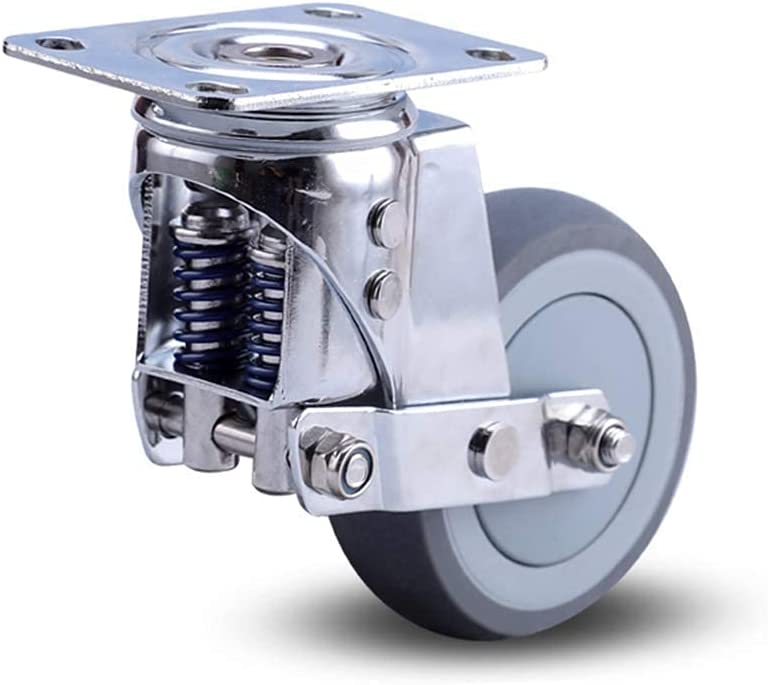 Gaohm Max 64% OFF Heavy Duty Direct sale of manufacturer Caster Wheels 3 4 Rubber Swivel inch Castor 5 W