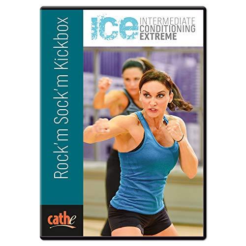 Cathe Friedrich ICE Rock m Sock m Cardio Kickboxing DVD Workout