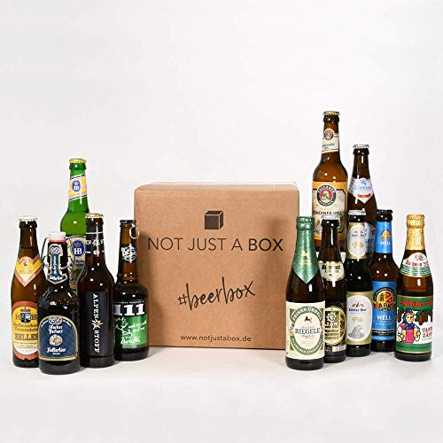 NOT JUST A BOX - Beerbox con 12 Birre Tedesche