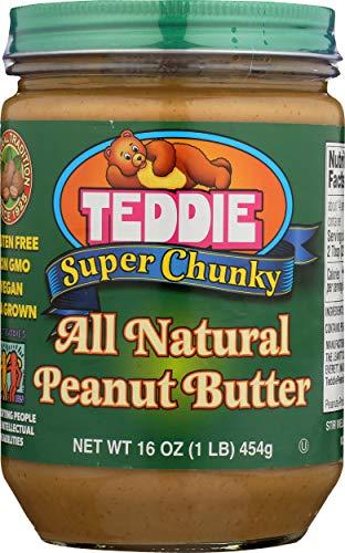 Teddie Peanut Butter Peanut Butter 16 Ounce