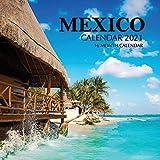 Mexico Calendar 2021: 16 Month Calendar