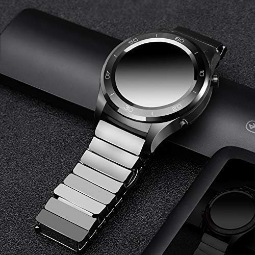 Comfortable Watch Band, Watch Accessories Suitable for Watch Gt 2 Strap for Watch 46Mm (Color : Black, Size : Amazfit GTR 47Mm)