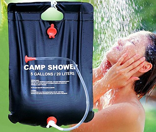 Unendlich ideal Home Decor Center Tragbare 20L Outdoor Camping Wandern Solar beheizt Camp Zelt Dusche Tasche