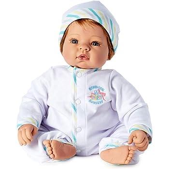 """Madame Alexander Middleton DOLL Newborn Nursery 19/"""" Munchkin Blonde//Blue #00932"""