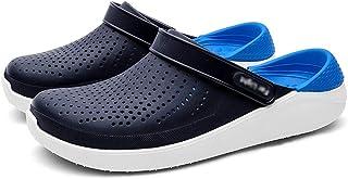 FDSVCSXV Clog clásico de los Hombres, Zuecos para Hombre Sandalias Casuales Transpirables livianas Verano Cómodos Zapatos ...