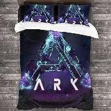 ARK: Juego de ropa de cama infantil de supervivencia, 135 x 200 cm + 50 x 75 cm x 2