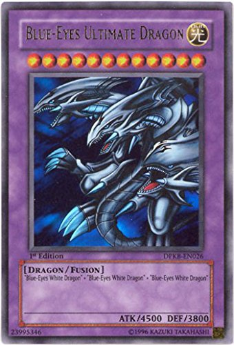 YU-GI-OH! - Blue-Eyes Ultimate Dragon (DPKB-EN026) - Duelist Pack: Kaiba - Unlimited Edition - Ultra Rare