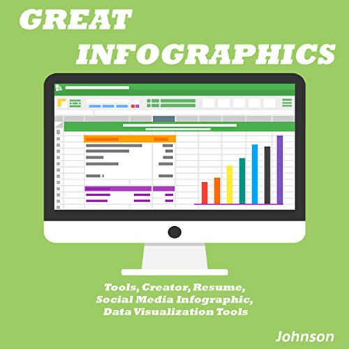 Great Infographics: Tools, Creator, Resume, Social Media Infographic, Data Visualization Tools audiobook cover art