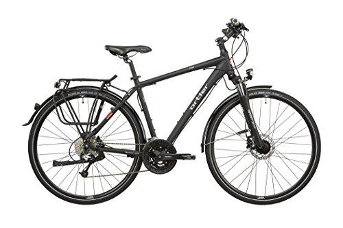 Ortler Chur - Bicicletas trekking - negro Tamaño del cuadro