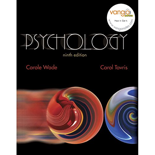 VangoNotes for Psychology, 9/e audiobook cover art
