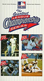 Greatest League Championship Series VHS