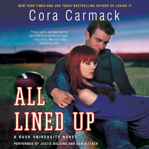 All Lined Up audiobook cover art