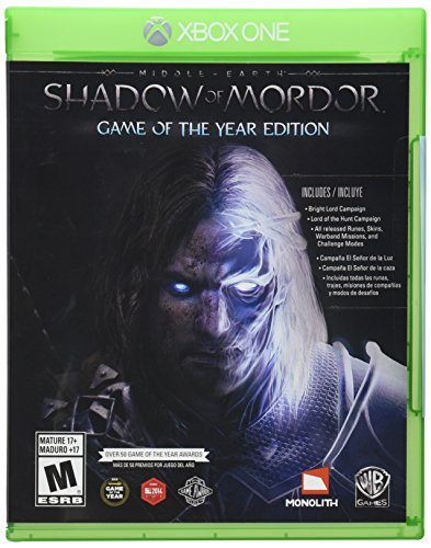 Shadow of Mordor – Xbox One – Game Of The Year Edition