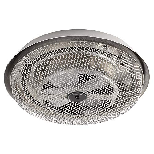 Broan-NuTone 157 Low-Profile Fan-Forced Ceiling Heater, Enclosed Sheath Element for Bathroom,...