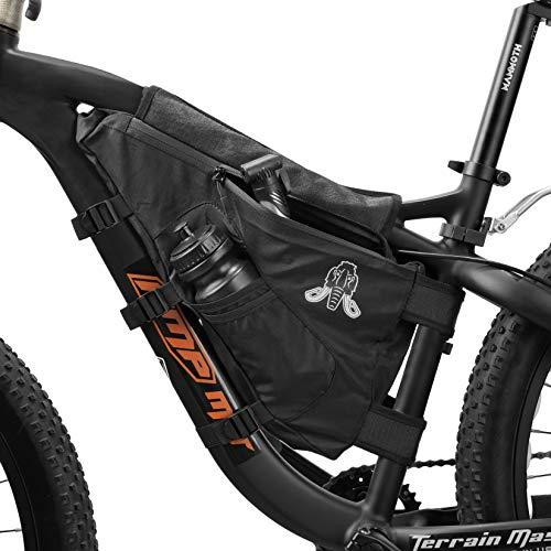 RNS Bike Frame Bag - Bike Pouch - Bicycle Bag Bike Bags Bikepacking Bag Triangle Frame Bag Bike Bag Bicycle Bag Frame Mountain Bike Bag Bicycle Storage Bag Bicycle Pouch Bicycle Frame Bag BL