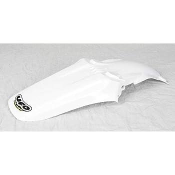 White UFO Plastics KA03766-047 Rear Fender