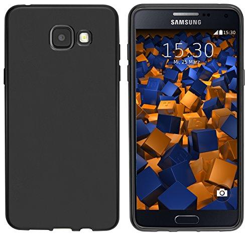 mumbi Hülle kompatibel mit Samsung Galaxy A5 2016 Handy Case Handyhülle, schwarz
