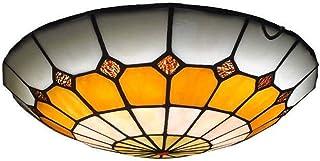 LED Ceiling Light Mediterranean Ceiling Light Round Ceiling Light Corridor Aisle Light Creative Button Ceiling Light (Colo...