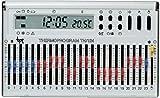Cronotermostato elettronico giornaliero da parete bianco TH/124.01 BB
